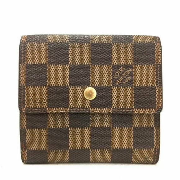 Louis Vuitton Handbags - SALE!! Auth LV Damier Ebene Elise Wallet